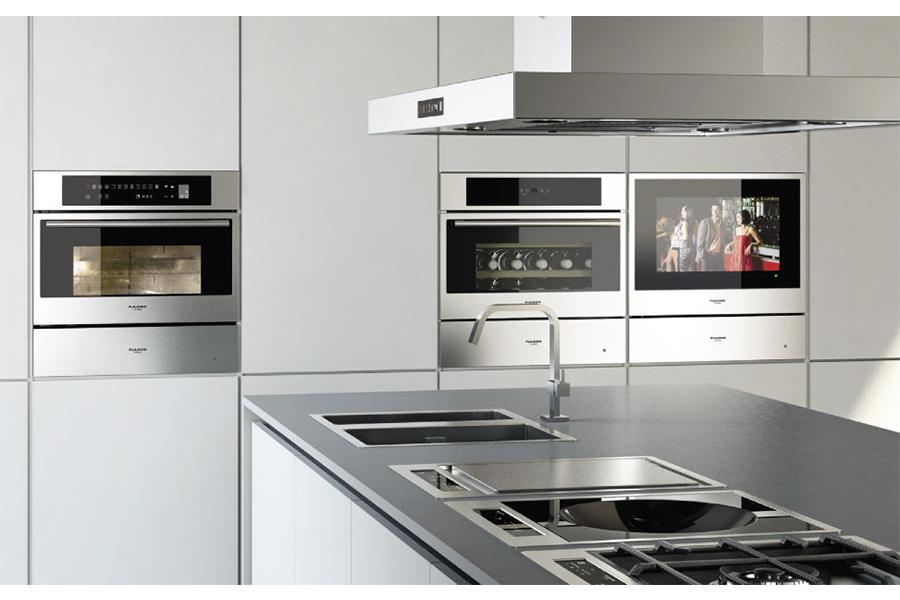 Ad ogni cucina il suo forno antares - Disposizione elettrodomestici cucina ...