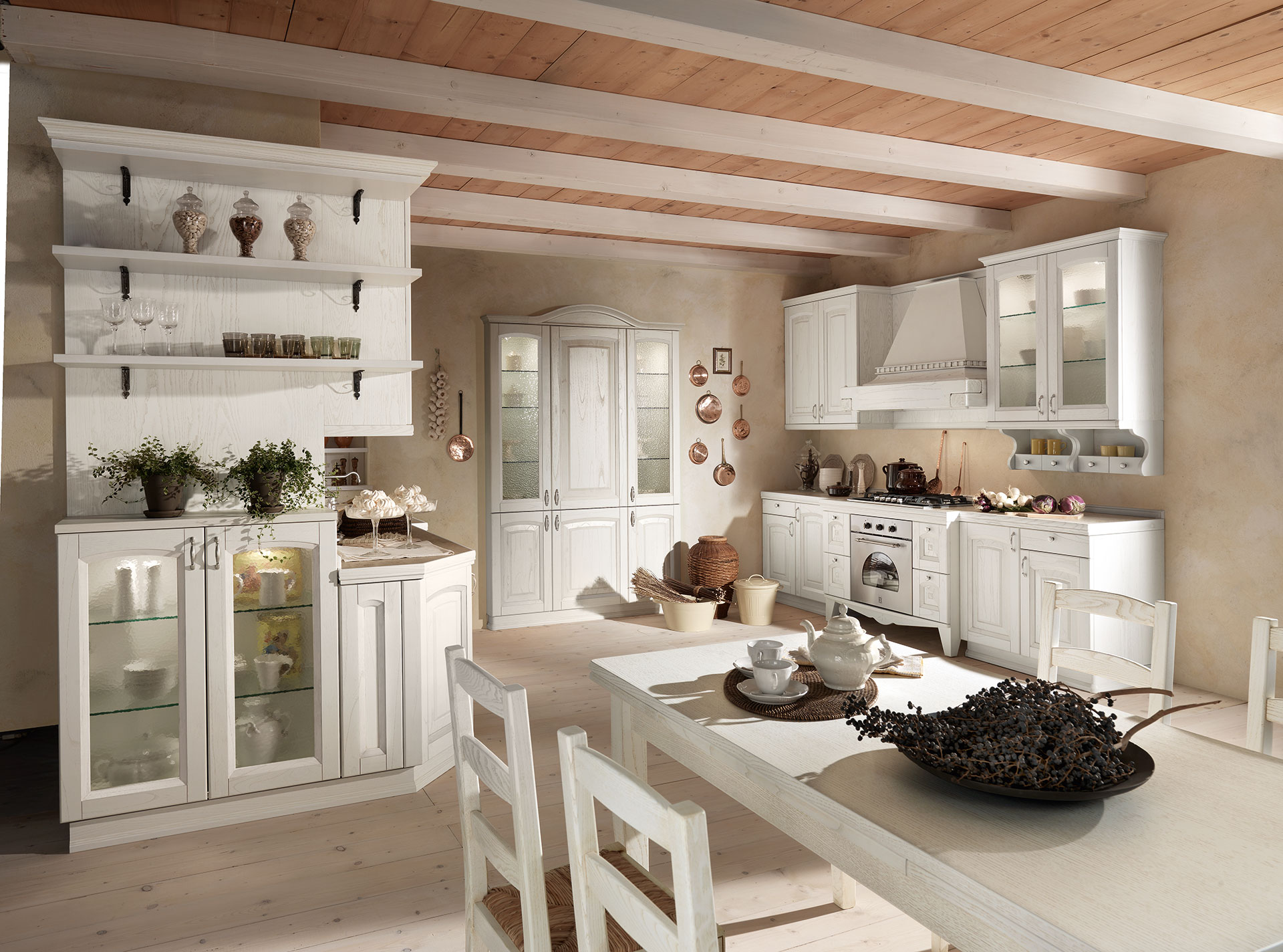 Cucine classiche cucine classiche rustiche in finta - Cucine classiche immagini ...