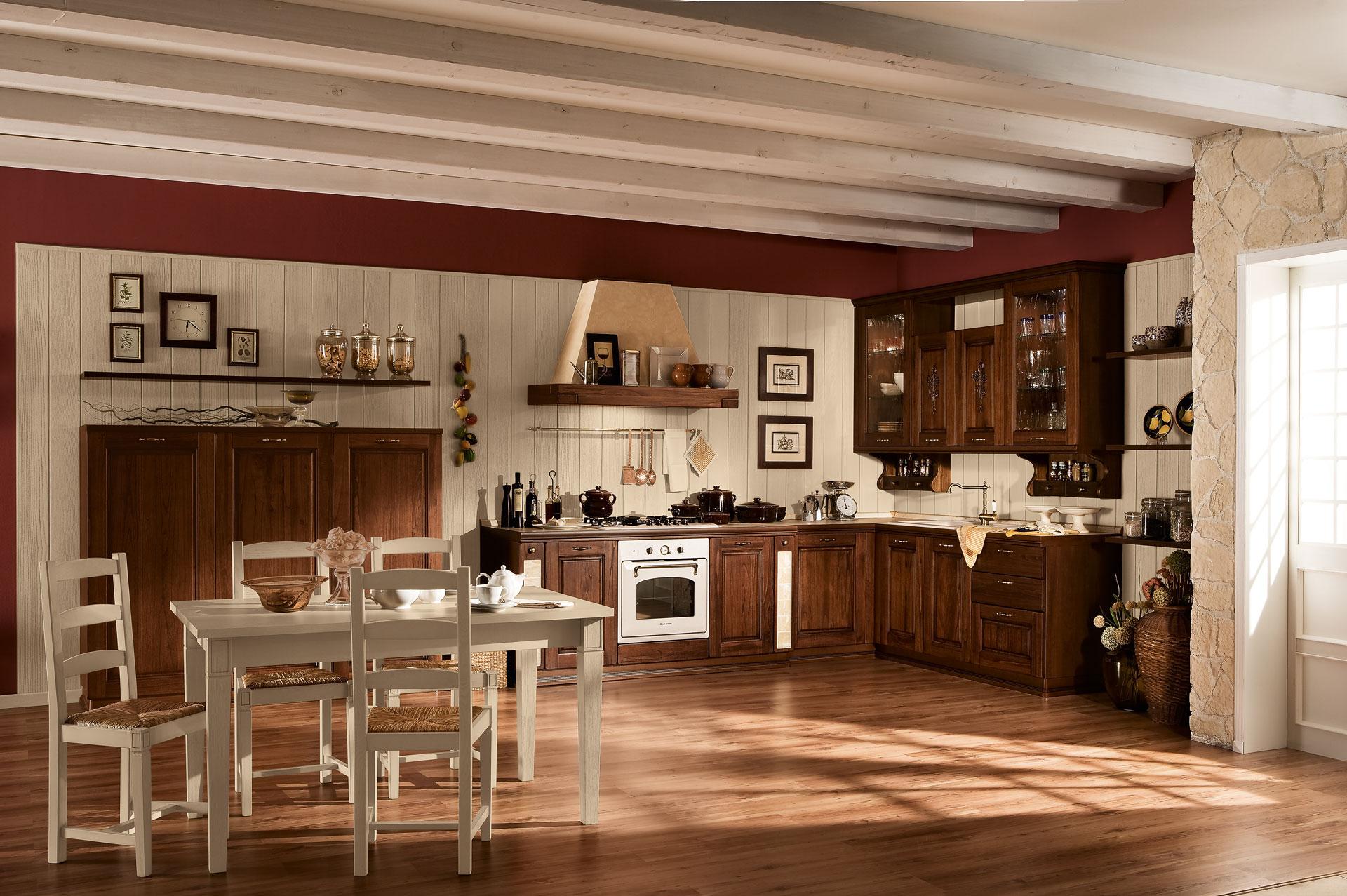 Cucine classiche antares - Cucine lineari classiche ...
