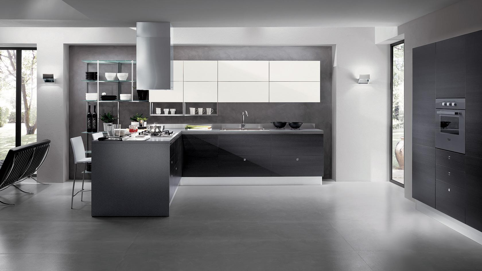 Un design originale per le cucine moderne antares for Design per cucina