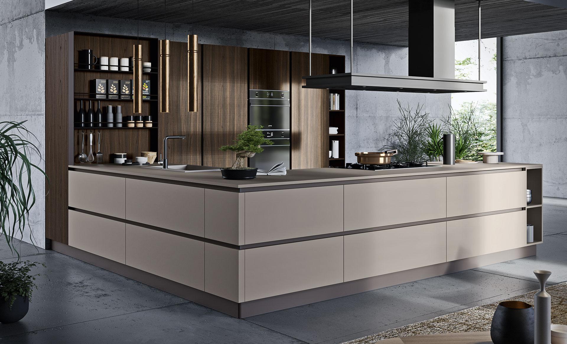 Un design originale per le cucine moderne   Antares