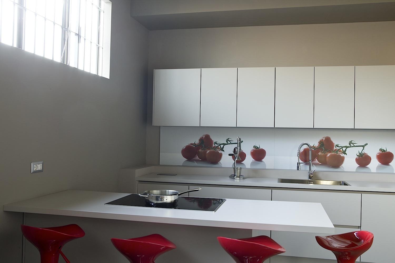 Cucine moderne per chi ama lo stile minimal antares - Plafoniere moderne per cucina ...