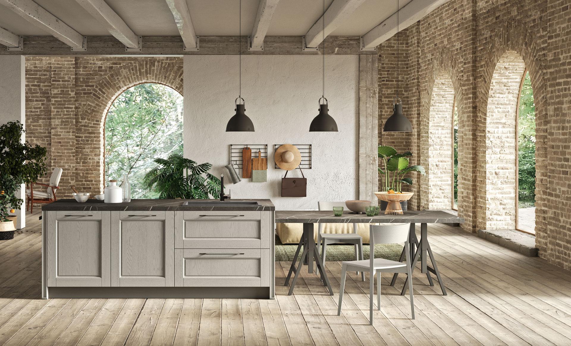 L arredamento vintage in cucina antares - Cucina stile vintage ...
