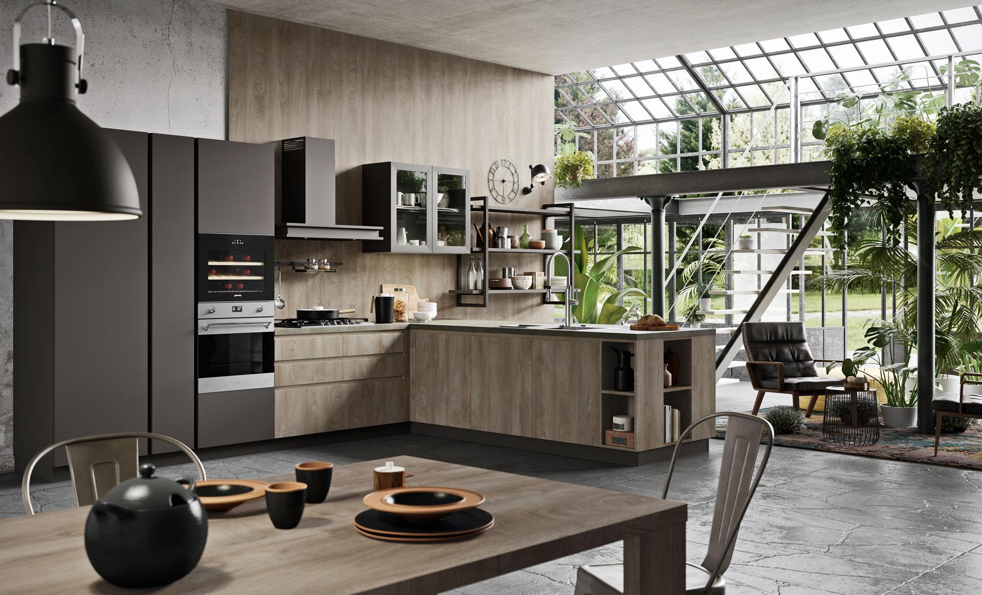L\'arredamento vintage in cucina | Antares